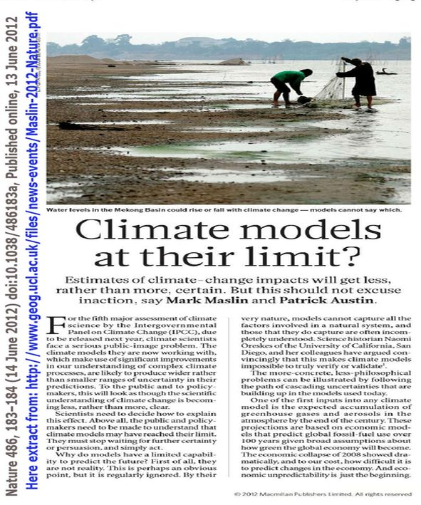 types of climate models pdf
